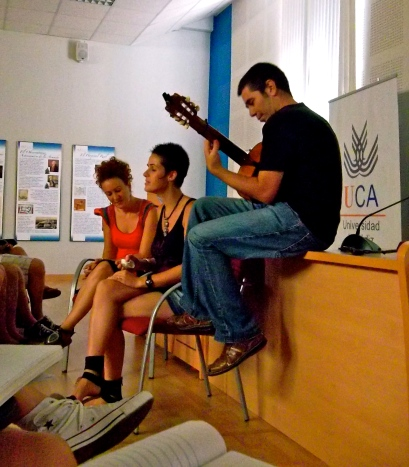 Flamenco in Cádiz, Spain