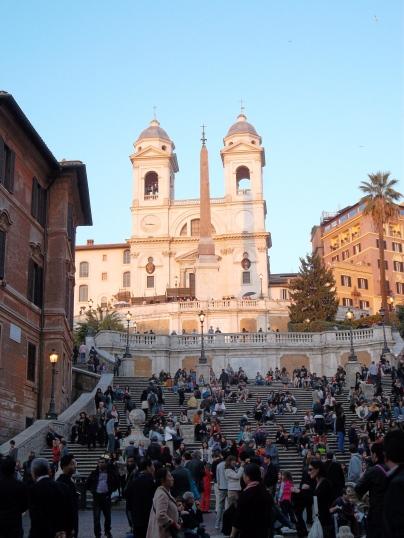 Spanish Steps, Rome, Italy