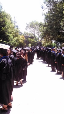 Graduation Day at UC Santa Cruz