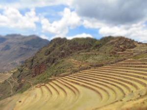 Terraces of Pisaq, Perú