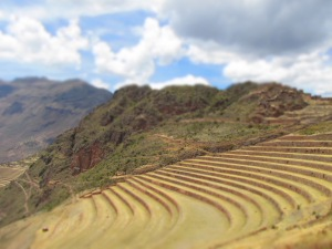 Terraces of Pisaq, Perú